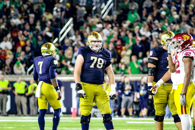 Right guard Tommy Kraemer will miss Friday's game at North Carolina due to an appendectomy.