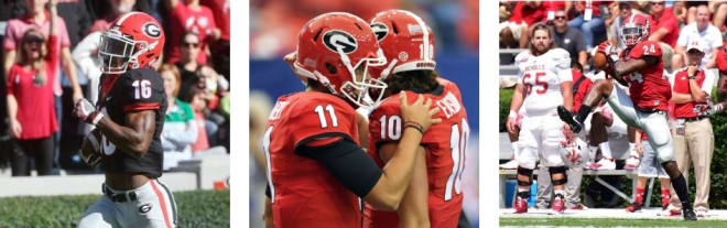 """During the upcoming Liberty Bowl, pay attention to the performances by ISAIAH McKENZIE, JACOB EASON, DOMINICK SANDERS, and even GREYSON LAMBERT as those Bulldogs, plus several others, will be on """"record watch."""""""