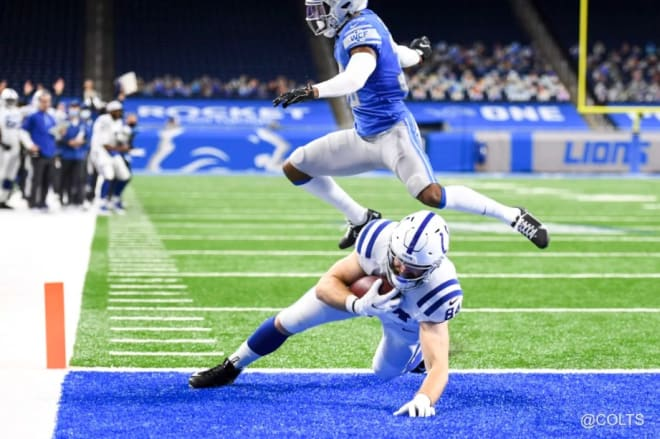 Former Western Kentucky tight end Jack Doyle. (Photo: colts.com)