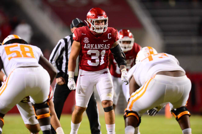 Grant Morgan was named a second-team All-American by the AFCA on Thursday.