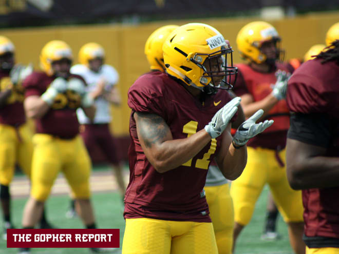 Safety Antoine Winfield Jr. will lead Minnesota's defense this year.