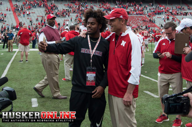 Radley-Hiles says he has been committed to Nebraska head coach Mike Riley since attending last year's spring game.