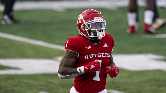 Rutgers Scarlet Knights football junior running back Isaih Pacheco's 515 rushing yards ranked eighth in the Big Ten last season.