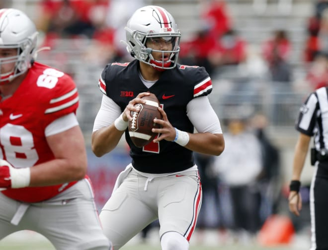 Stroud had an efficient and largely mistake-free outing in the Ohio State Spring Game.