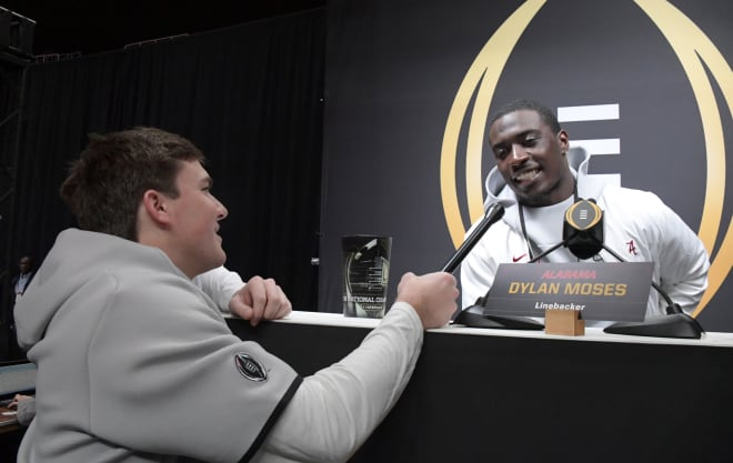 Alabama linebacker is one of three players selected to represent the Crimson Tide in this year's SEC Media Days. Photo | USA Today