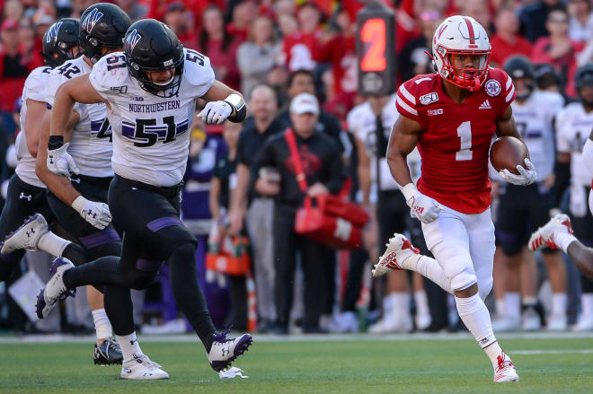 Wan'Dale Robinson and the rest of Nebraska's wide receiver room appears to be close to full strength.