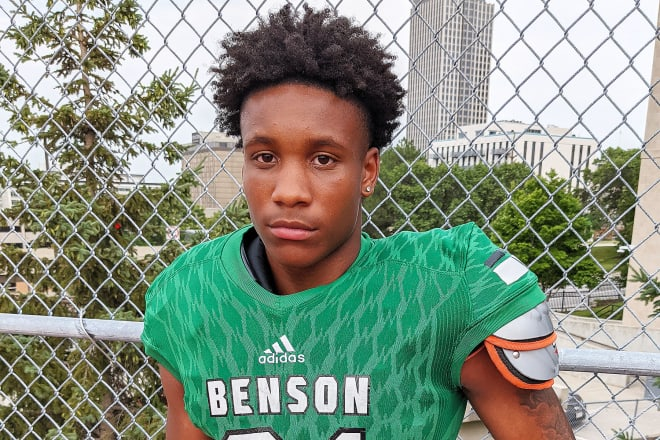 Omaha Benson senior Kevin Newsome has helped the Bunnies to one of their best start in the 21st century. Hopefully there's more where that came from...