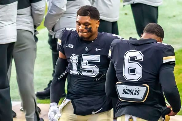 DaMarcus Mitchell figures in prominently to Purdue's defensive plans. But is it at linebacker or end?