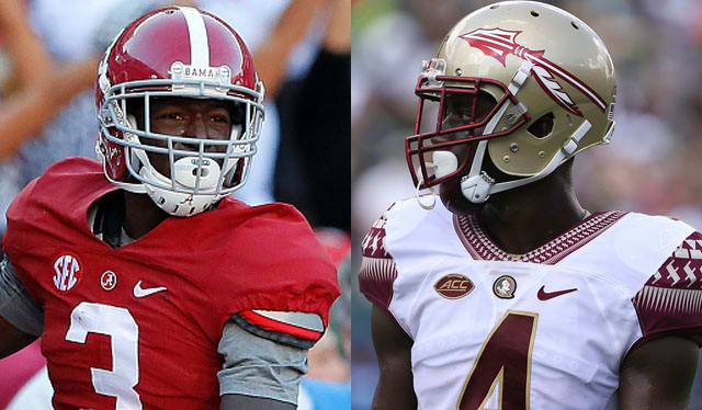 Calvin Ridley of Alabama at Receiver and Tarvarus McFadden a Florida State Defensive are two impact players to watch