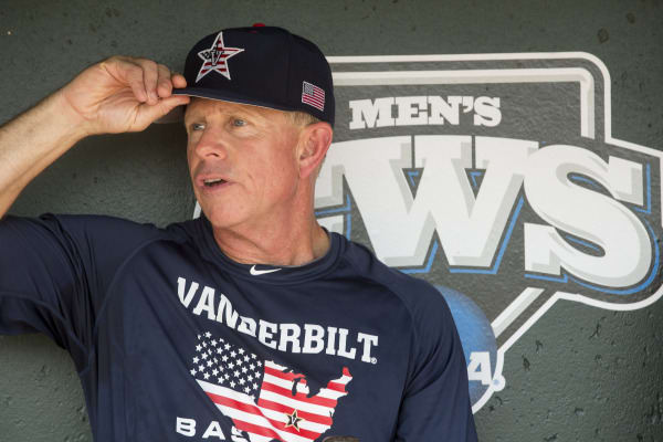Vanderbilt coach Tim Corbin hopes to lead the Commodores to a fourth College World Series.