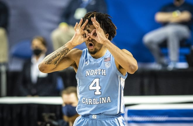 RJ Davis' best game came in an ACC Tournament win over Virginia Tech.