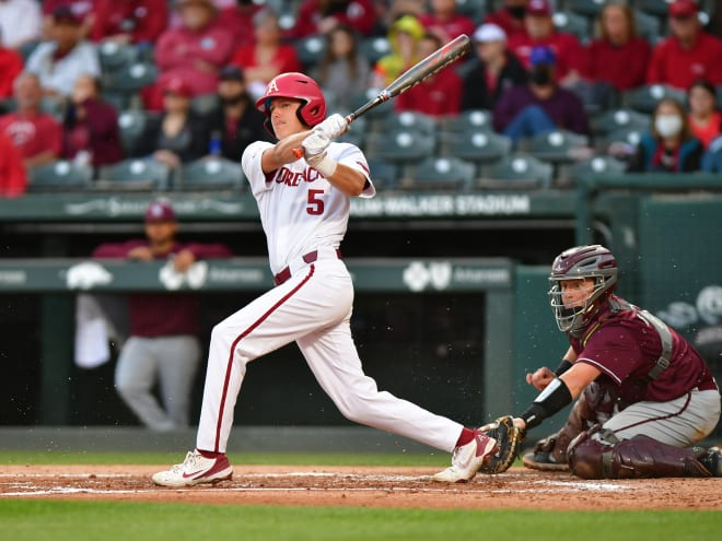 Arkansas is trying to sweep its two-game midweek series against Little Rock on Wednesday.