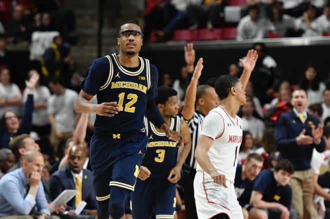 Michigan Wolverines basketball G Muhammad-Ali Abdur-Rahkman
