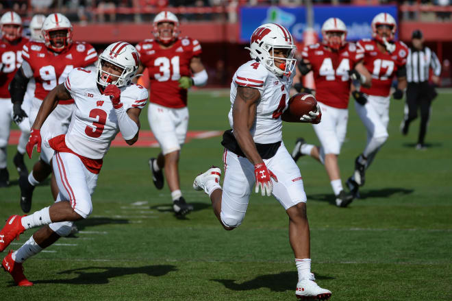 A.J. Taylor had Wisconsin's only play on the day over 29 yards.