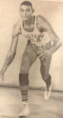 Reggie Harding during his days at Detroit Eastern High.