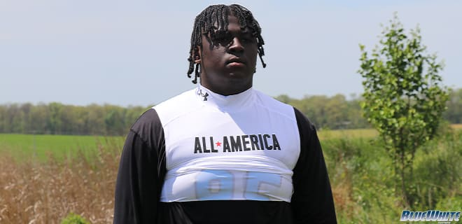 St. Frances OL Andre Roye tweeted Friday afternoon that he's already on campus.