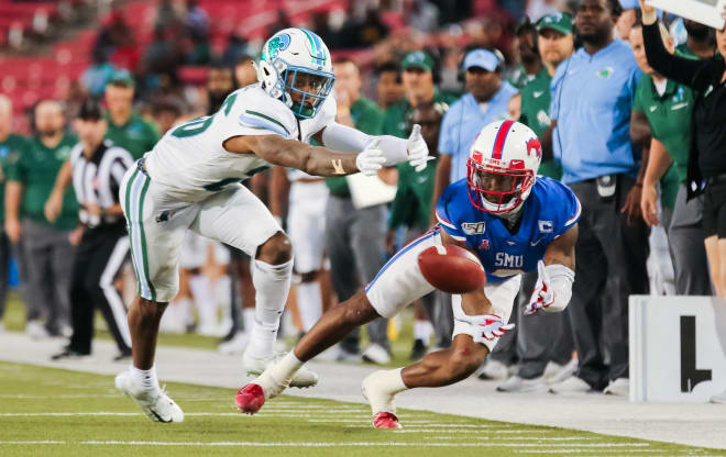 James Proche caught seven of his 111 catches in 2019 in the home finale against Tulane.