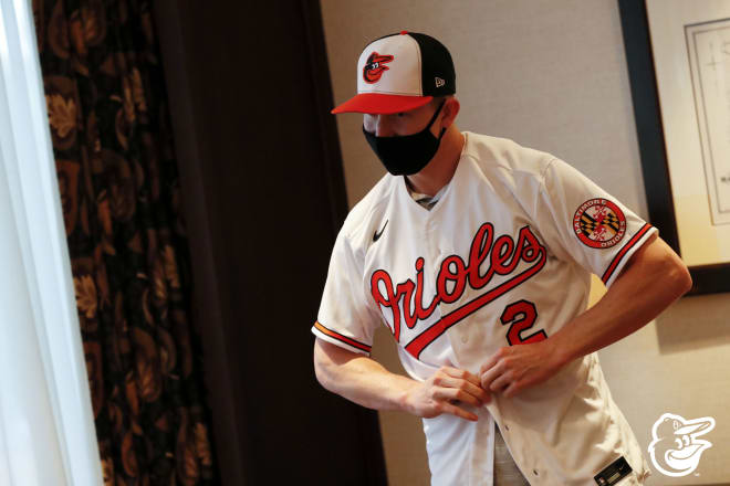 Heston Kjerstad has officially signed with the Baltimore Orioles.