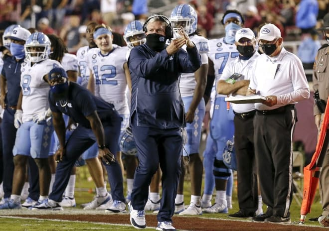 Learning how to stay among the nation's elite is North Carolina's mission, and it proved Saturday it has a way to go.