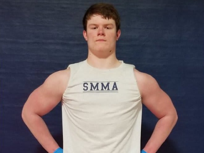 St. Louis De Smet tight end and Notre Dame Fighting Irish football recruiting target Mac Markway