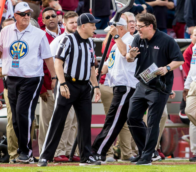 Will Muschamp in a mask and readers? My goodness, that's so many elements of Boom. We are not worthy.