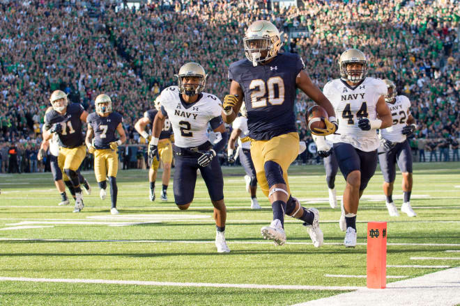 Notre Dame Fighting Irish football running back C.J. Prosise