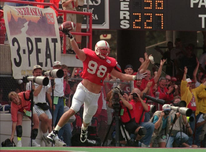 Former Nebraska greats Grant Wistrom (above) and Jason Peter gave an inspiring message to the current Husker defense about what it meant to be a Blackshirt.