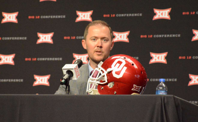 Oklahoma head coach Lincoln Riley.