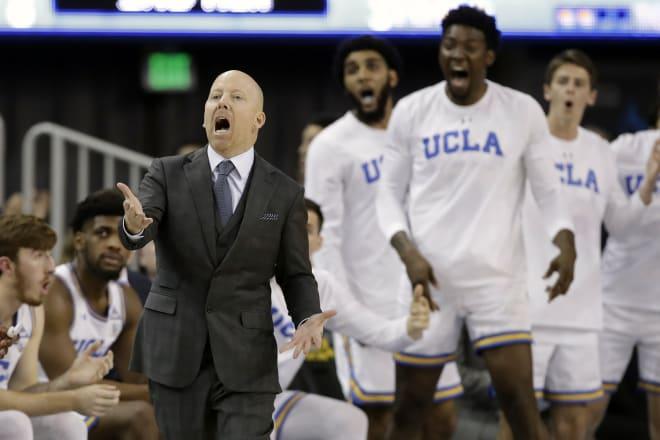 UCLA head coach Mick Cronin