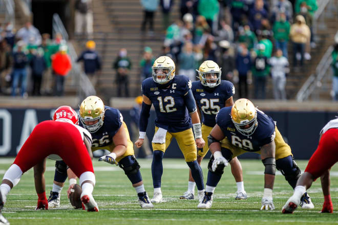 Ian Book and the Notre Dame scuffled against Louisville but did enough to win.