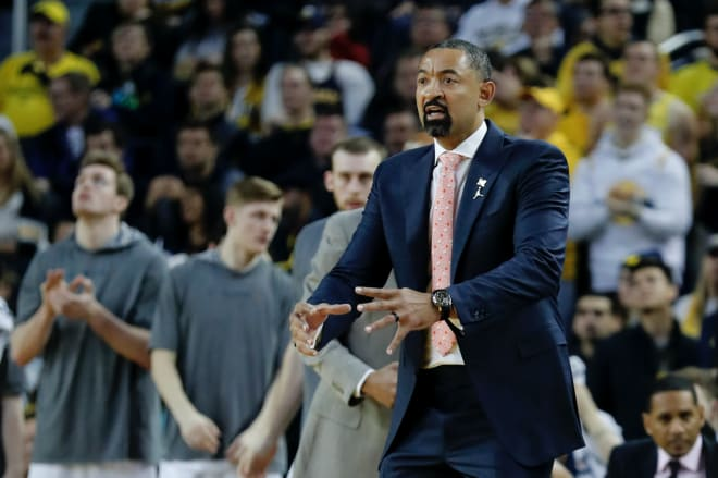 Michigan Wolverines head basketball coach Juwan Howard posted a 19-12 record in his first season.