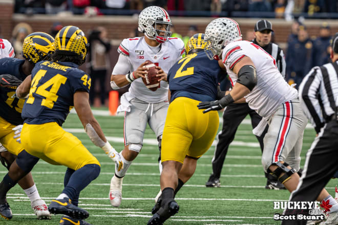 Justin Fields came back from an injury to help cement Ohio State's win.