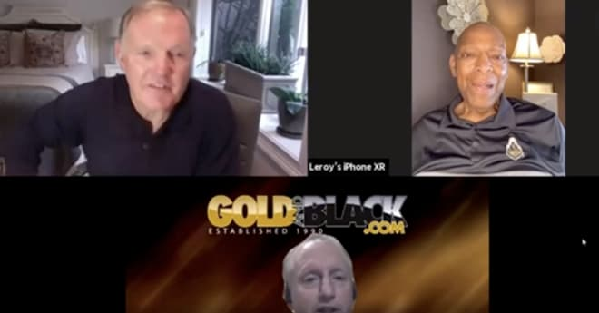 Click here (and then on the Segment 3 link) to watch the Nov. 20, 2020 'Gold and Black LIVE' interview with Keyes and Griese.