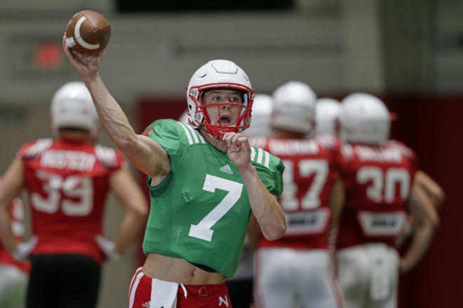 Luke McCaffrey at Nebraska