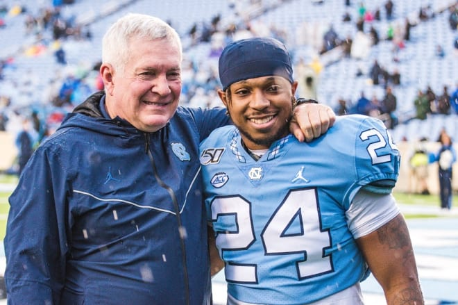 UNC Coach Mack Brown says he and his program want to help the players build brands.