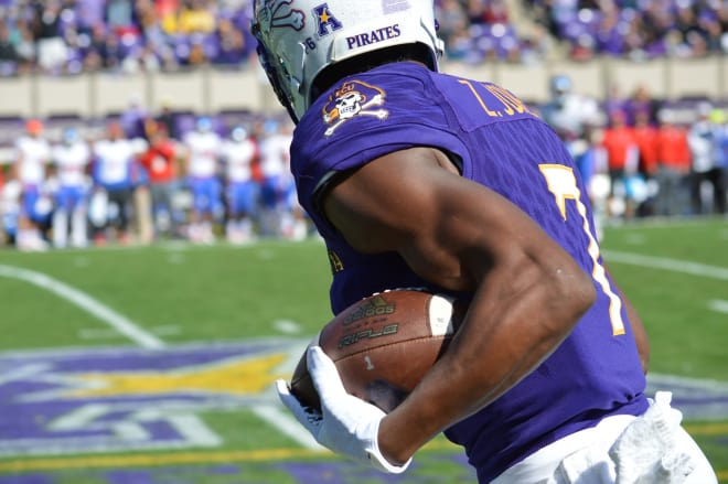 Zay Jones moved closer to the Biletnikoff Award when they named their ten finalists on Monday.
