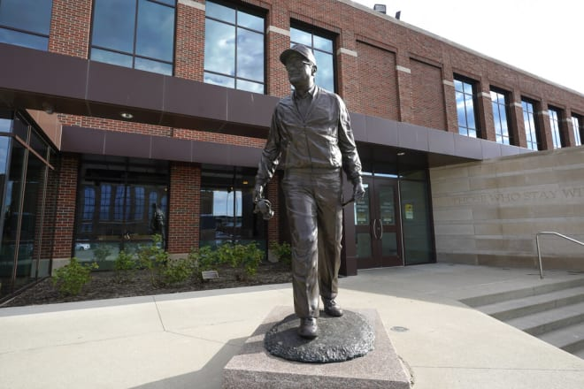 Michigan Wolverines football is headquartered out of Schembechler Hall.