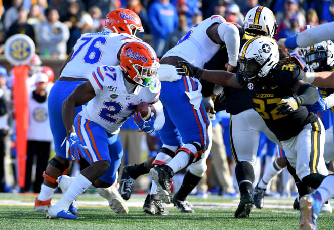 Florida running back Dameon Pierce.