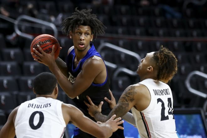 Brandon Rachal had 25 points and 13 rebounds to help Tulsa win in Cincinnati for the first time since 1967.
