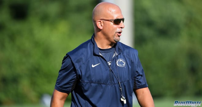 James Franklin and the Penn State Nittany Lion football team hired Mike Yurcich, Anthony Poindexter and Ty Howle inn 2021.