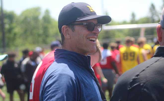Michigan Wolverines football and head coach Jim Harbaugh have a Top 20 recruiting class nationally this cycle.