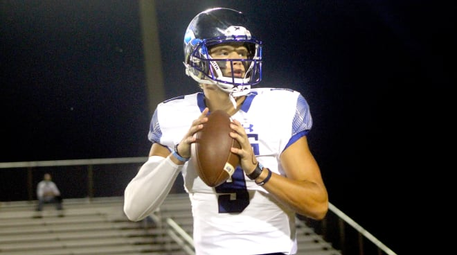 Rivals100 quarterback JJ McCarthy is committed to Michigan Wolverines football recruiting, Jim Harbaugh.