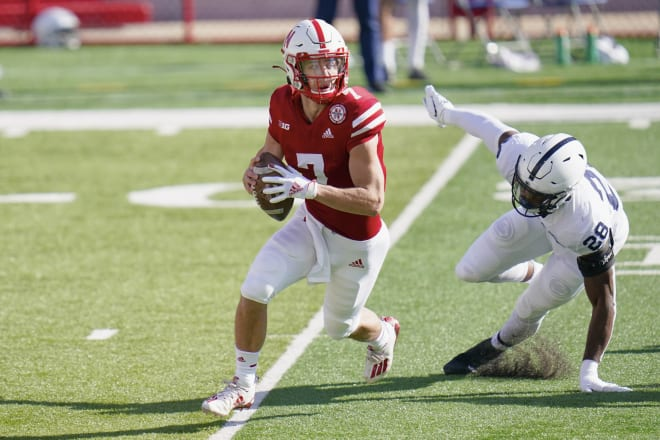 Nebraska redshirt freshman quarterback Luke McCaffrey has entered the NCAA transfer portal.