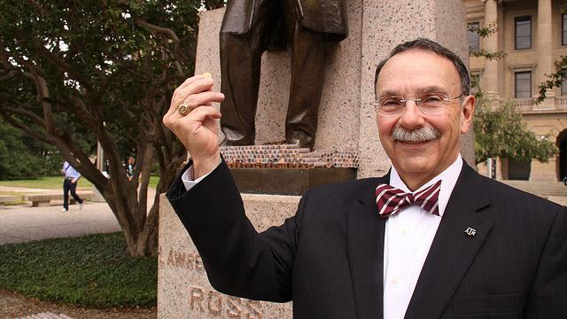 R. Bowen Loftin oversaw Texas A&M's move to the SEC and later wrote a book about the process