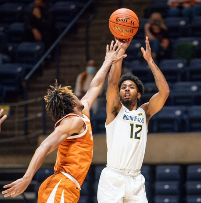 The West Virginia Mountaineers basketball team has gotten an offensive spark out of Sherman.