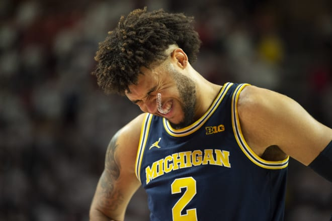 Michigan Wolverines basketball senior forward Isaiah Livers will likely miss the rest of the year with a stress fracture in his foot.