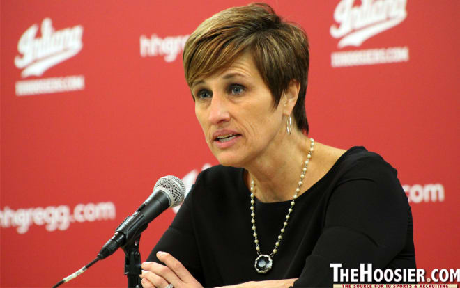 IU head coach Teri Moren's team won't know if it's in the NCAA Tournament field until March 13.