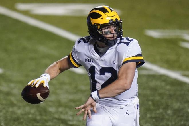 Michigan Wolverines football quarterback Cade McNamara is taking ownership of the 2021 team