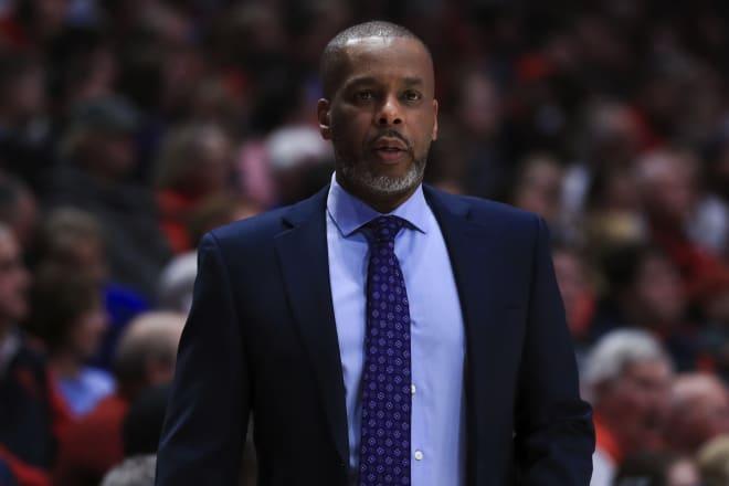 Notre Dame Fighting Irish men's basketball associate head coach Anthony Solomon