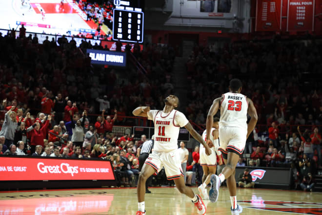 Western Kentucky knocked off then-undefeated Arkansas on Saturday night at E.A. Diddle Arena.